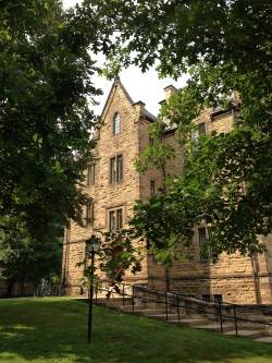 Ascension Hall at Kenyon College, Gambier, Ohio
